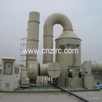 Buy cheap FRP Tower Scrubber Tower Gas Absorption Tower from wholesalers