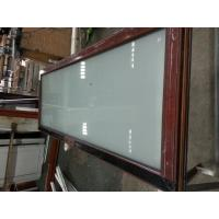 Buy cheap Frosted double glass bathroom door design from wholesalers