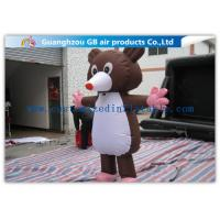 Buy cheap Large Inflatable Cartoon Characters Costume , Inflatable Mickey Mouse 2.2m Movable from wholesalers