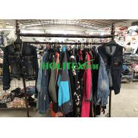 Buy cheap UK Style Second Hand Denim Jacket / Used Denim Jackets Mixed Size For Africa from wholesalers