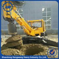 Popular hot sale bore hole piling drilling rig/screw piling drilling rig