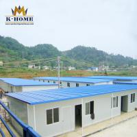 Buy cheap Modular Designed Portable Accommodation Worker House  Flexible T Type from wholesalers