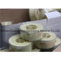 Buy cheap Light Yellow Glass Fiber Garniture Tape For Tabocco / Cigarette Machine product