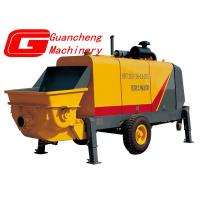 Buy cheap HBT40RS mobile concrete mixer with pump  Twenty container and move anywhere from wholesalers