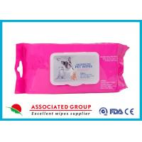Buy cheap Healthy Reusable Wet Wipes Tissues / Eco Friendly Organic Wet Wipes from wholesalers