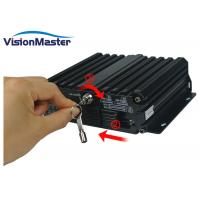 Buy cheap 12 Volt Dvr Systems Mobile Digital Video Recorder Wifi 3G 4G 4 X 720P AHD product