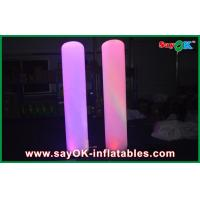 Buy cheap Lighting Tube Pillar Custom Inflatable Advertising Inflatable Column 2m Height from wholesalers