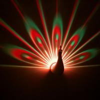 Buy cheap Novelty gifts Peacock projection lamp from wholesalers