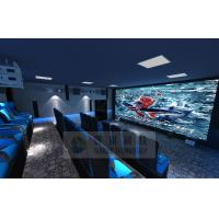 Buy cheap Cinema House 4D Movie Theater Electronic System Simulation Rides 50 People product