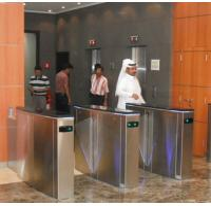 Buy cheap Hidden gate turnstile for luxury office buildings product