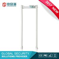 Buy cheap High Sensitivity Multi Zone Door Frame Metal Detector Walk Through With PC Network Function from wholesalers