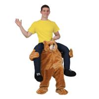 Buy cheap Holiday / Carnival Animal Mascot Costumes Bear Carrying Man Costume from wholesalers