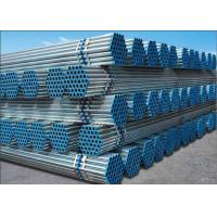 Buy cheap BS 1387 ASTM A53 Hot Dip Galvanized Steel Pipe , Welded Round Erw Steel Tube For Line Pipe from wholesalers