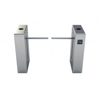 Buy cheap RFID card Reader Full Automatic Pedestrian Control Drop Arm Gate Turnstile With LED light from wholesalers