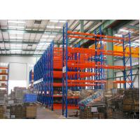 Buy cheap Blue Red Mobile Storage Racks Q235B Custom Pallet Electric Mobile Shelving product