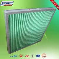 Buy cheap Air handling unit Activated Carbon Air Filter Medium efficiency Pleated Furnace Filter from wholesalers