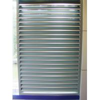 Buy cheap series aluminium fixed window shutter, Surface treatment: powder coating in any colour, from wholesalers