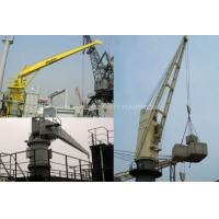 Buy cheap Solas HYDRAULIC SLEWING CRANE marine deck crane with BV certificate from wholesalers