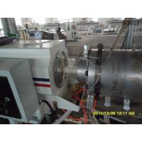 Buy cheap PPR Hot / Cold Water Pipe Plastic Extrusion Machine 16 - 200mm Pipe from wholesalers