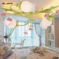 Buy cheap Modern Led Ceiling Lights For Indoor Lighting plafon led Flower Ceiling Lamp Fixture For Living Room Bedroom from wholesalers