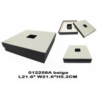 Buy cheap Beige Square Chocolate Packing Boxes , Empty Chocolate Gift Boxes Packaging from wholesalers