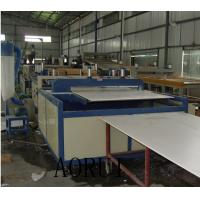Buy cheap PVC Building Foam Board Machine , Kitchen Foamed Board Extrusion Line for Furnitiure from wholesalers