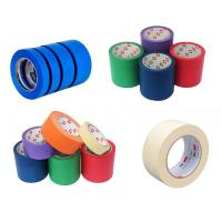 Buy cheap Masking Tape Made of Easy-to-tear Paper Backed with Relatively Weak Adhesive from wholesalers
