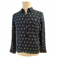 Buy cheap Autumn Female Long Sleeve Floral Blouse And Shirt With Chest Pocket from wholesalers