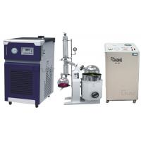 Buy cheap Zhengzhou Greatwall 20L Rotary Evaporator with Chiller & Solvent Recovery Pump from wholesalers