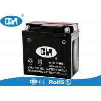 Buy cheap Black 12 Volts Maintenance Free Motorcycle Battery With Acid Pack Acid Resistance from wholesalers