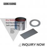 Buy cheap PAP Bushes PTFE Composite Bronze Gleitlager Anlaufscheiben Thrust Washers Strips from wholesalers