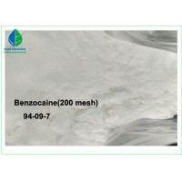 Buy cheap 99% Purity Local Anesthesia Drugs Benzocaine With 20 - 50 Mesh / 200 Mesh from wholesalers