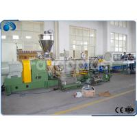 Buy cheap PP PE PET Plastic Pelletizing Machine Double Screw Extruder Recycling Line High Effecient from wholesalers