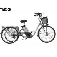 Buy cheap TM-BGL-ET02 Three Wheel Electric Bike , Rechargeable Electric Bicycle With Lithium Battery from wholesalers