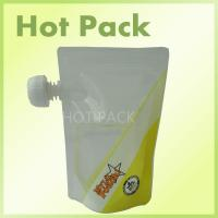 Buy cheap Microwave Safe Stand Up Pouch With Spout And Top Zipper For Babies Food from wholesalers