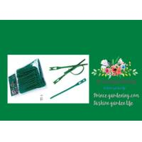 Green Tree Climbing Garden Plant Ties , Plastic Tree Support Ties