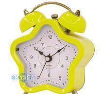 China Star Shape Twin Bell Alarm Clock on sale