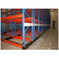 Buy cheap Rail Guided Mobile Storage Racks Warehouse Racking Shelves For Optimizing Space product