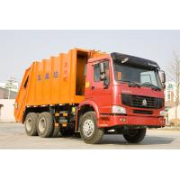 Buy cheap 6X4 Safety Steel Garbage Compactor Truck With 16m3 Large Loading Capacity from wholesalers