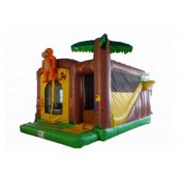 Buy cheap Gloss Material Kids Inflatable Jumping Castle Long Enough Run - Out Section For Safe Play from wholesalers