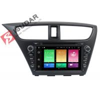 Buy cheap Full RCA Output Android Car DVD Player Honda Civic Touch Screen Head Unit Support Apps product