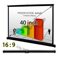 Buy cheap Handy Table Top Micro Projector Screen , 40 Inch Drop Down Screens For Projectors from wholesalers