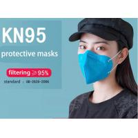China Non-woven fabric anti-virus civil using KN95 mask blue on sale