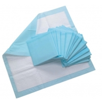 Buy cheap Hospital Disposable Blue Bed PEE Adult Underpads For Incontinence from wholesalers