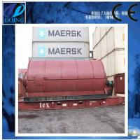 Buy cheap waste tire recycling machine for oil and carbon black from wholesalers