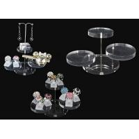 Buy cheap Acrylic magazine display , clear round acrylic accessories display product