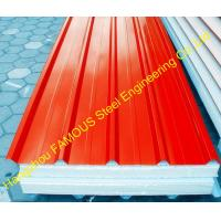 Buy cheap Heat Insulation EPS Polyurethane Foam Sandwich Panels For House from wholesalers