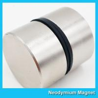 Buy cheap Thick Disc Industrial Neodymium Magnets Large Size Zinc Nickel NiCuNi Coating D50 X 30 from wholesalers