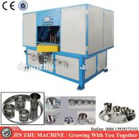 Buy cheap Customized Cookware Polishing Machine , 4kw Automatic Buffing Machine from wholesalers