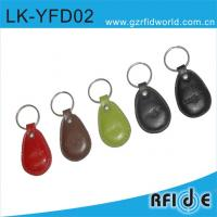 Buy cheap RFID Leather key tag  LK-02 for access control from wholesalers